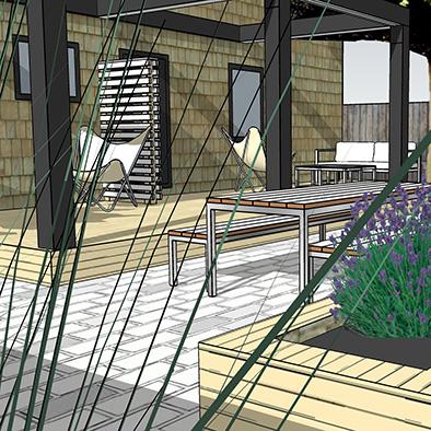 Contemporary Landscape Design Halifax