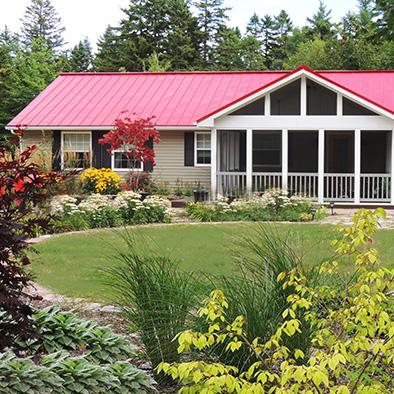 Mahone Bay Landscape Architect - Circular Lawn