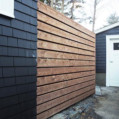 Landscape Design Halifax Modern Fence