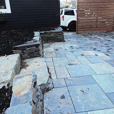 Landscape Design Halifax Stone