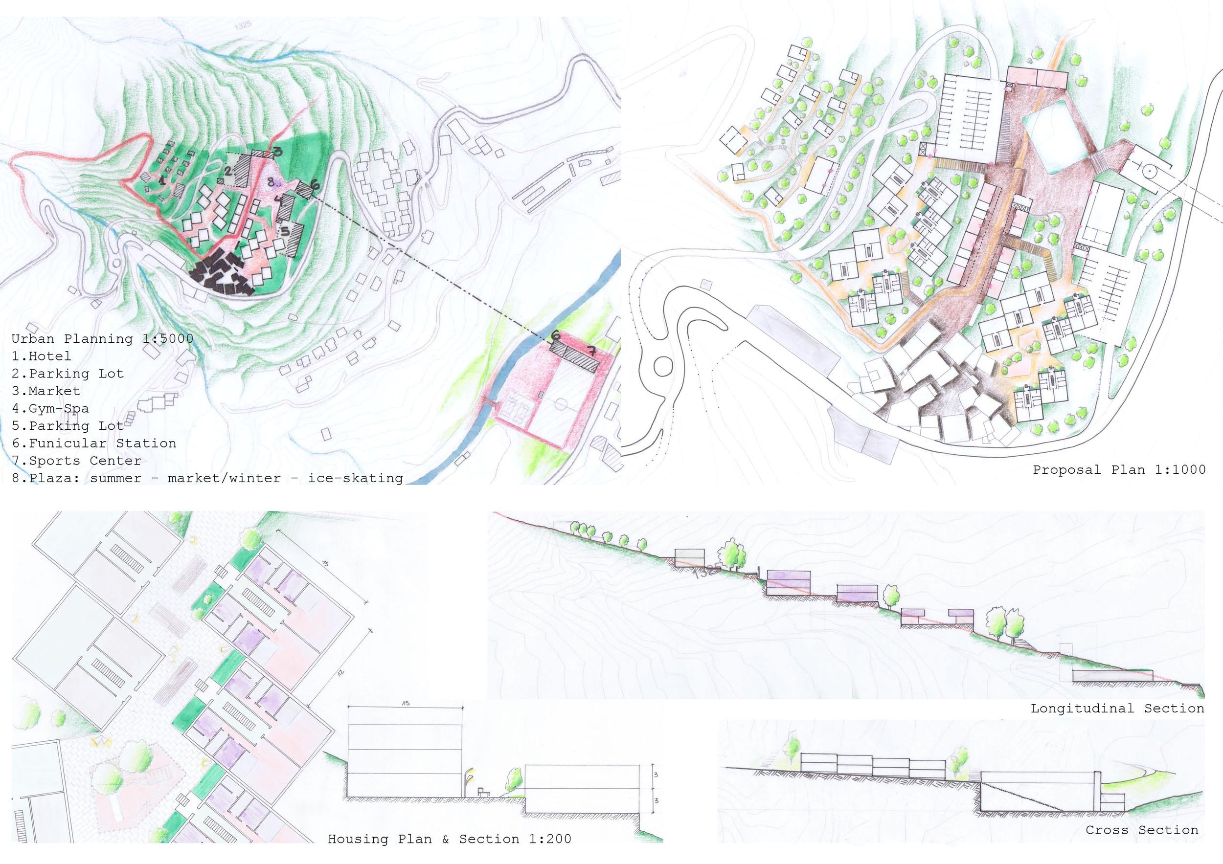 Encamp (Andorra) Urban Planning