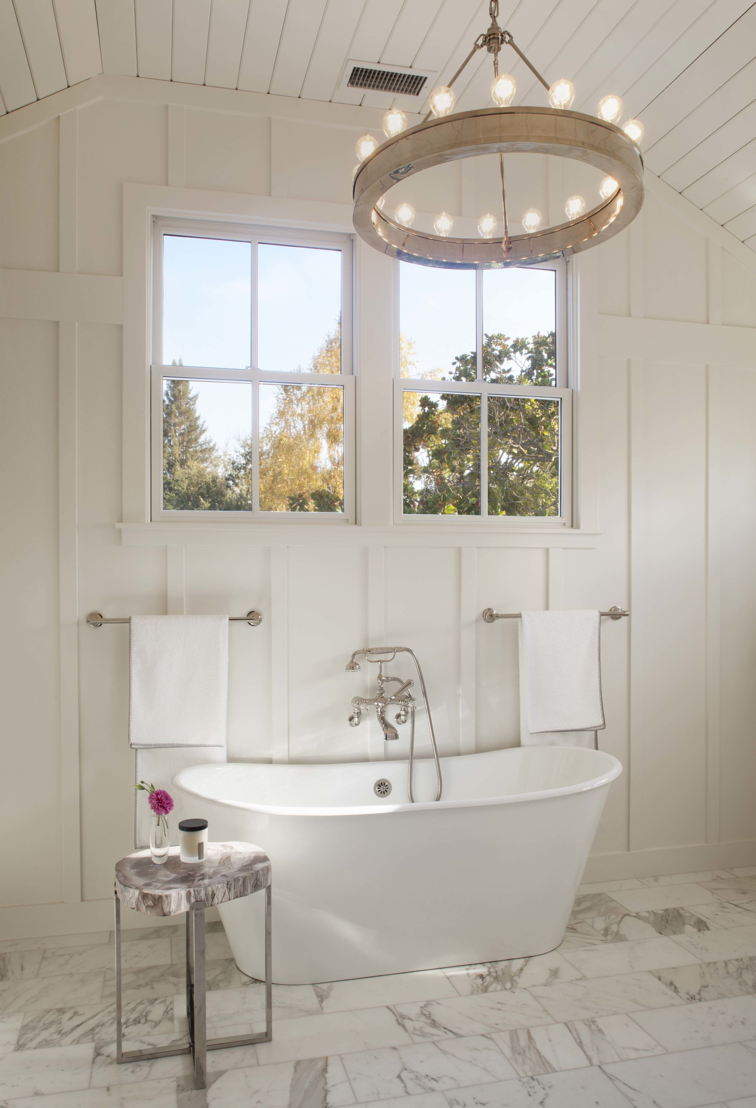Modern Farmhouse: Master Bath 1
