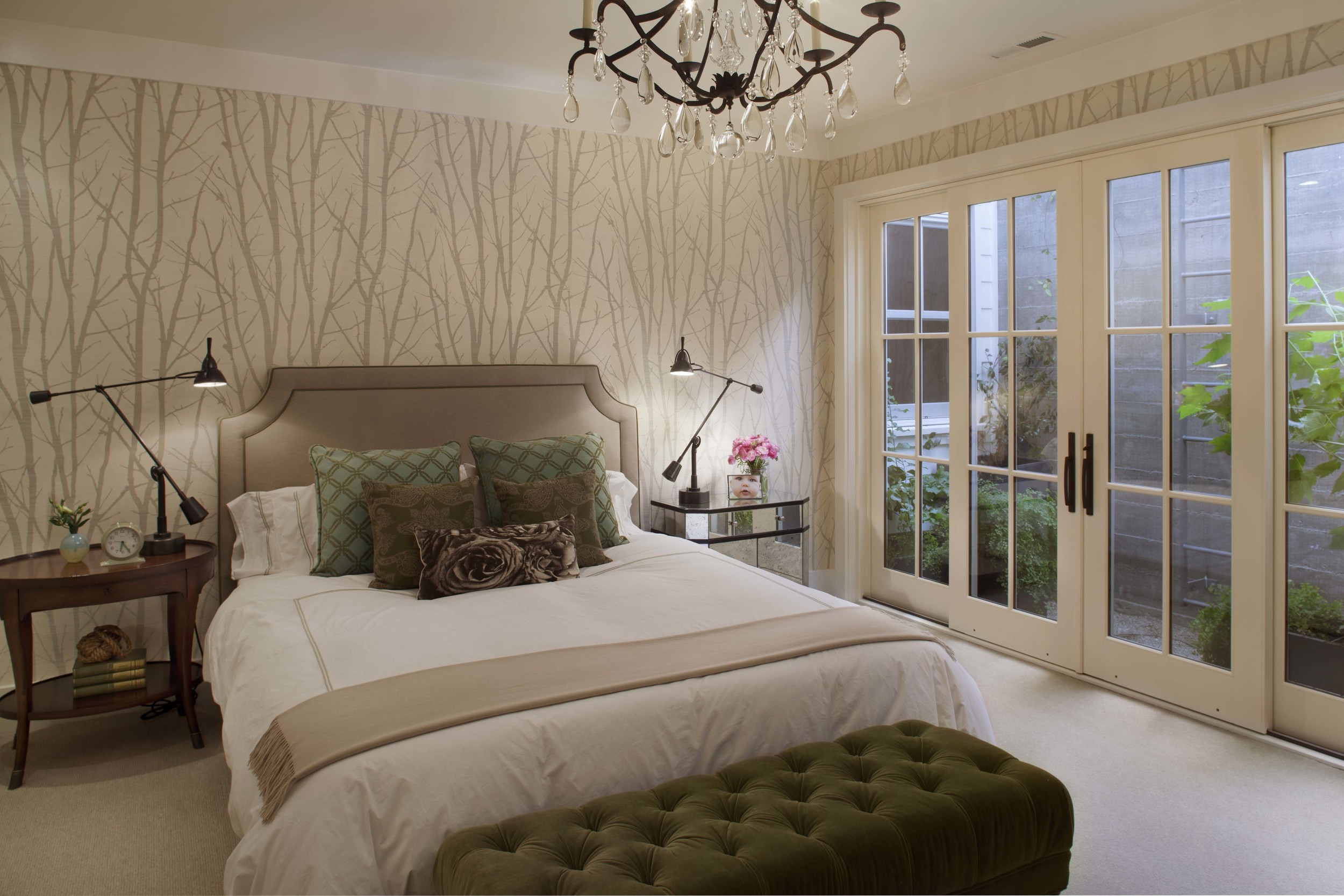 Modern Farmhouse: Guest bedroom