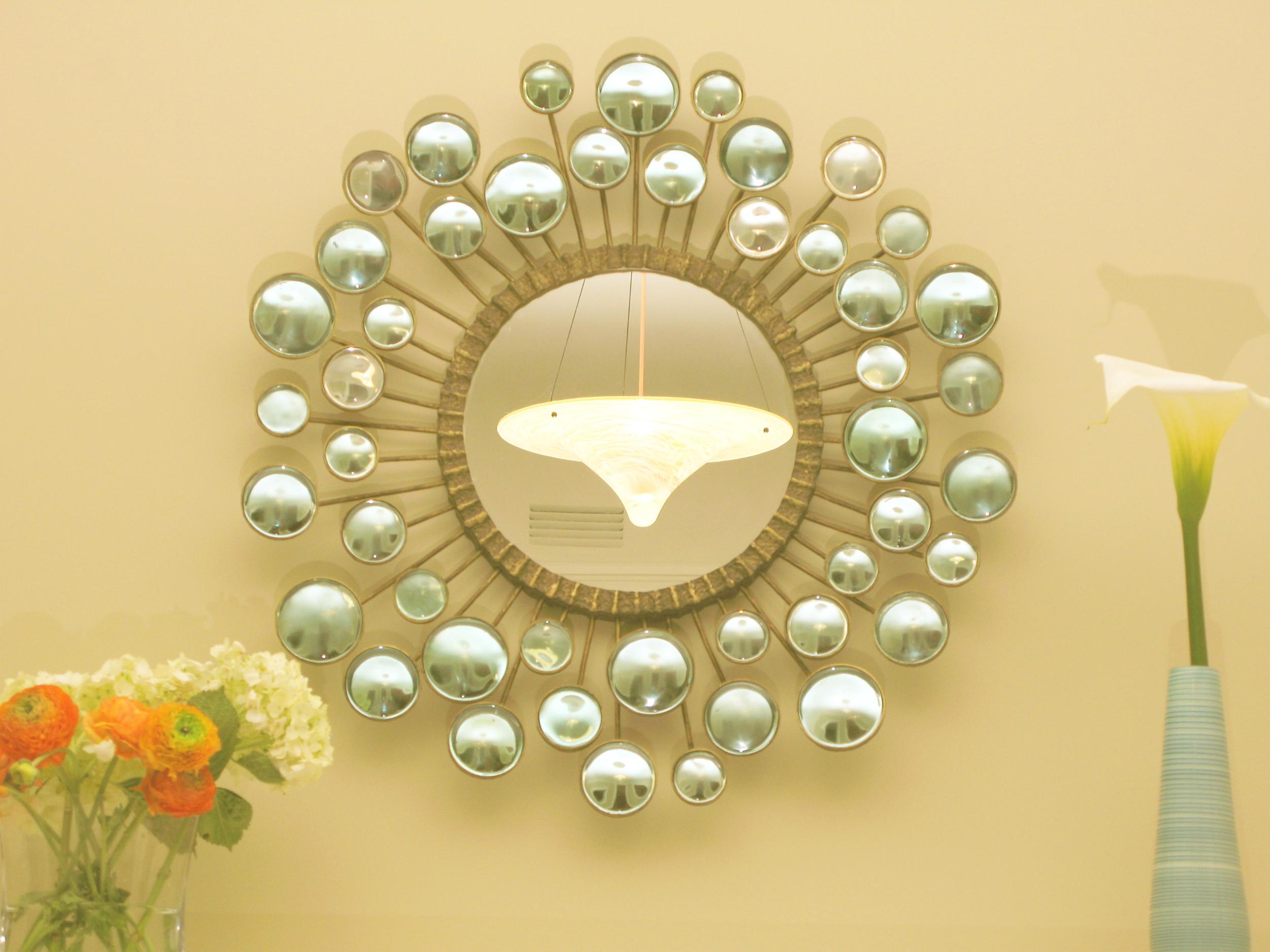 Updated Victorian: Decorative mirror