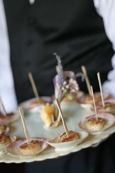 www.patrickdavids.com was the caterer. Yum!