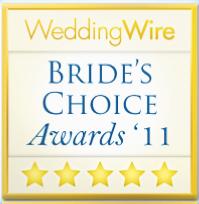 Martha Stewart's Bride's Choice Award