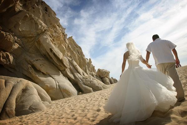 Cabo San Lucas Beach Wedding 1