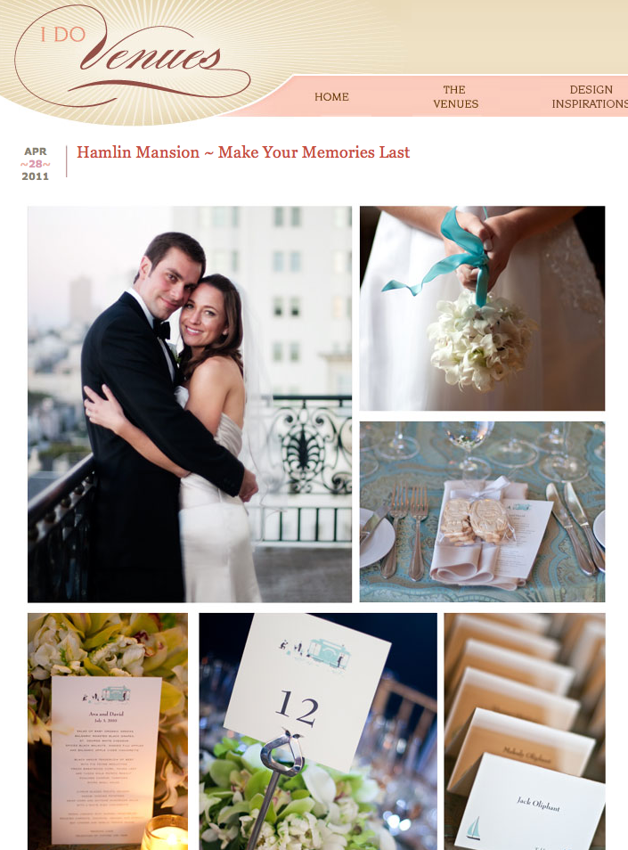 The Hamlin Mansion San Francisco Wedding Photography