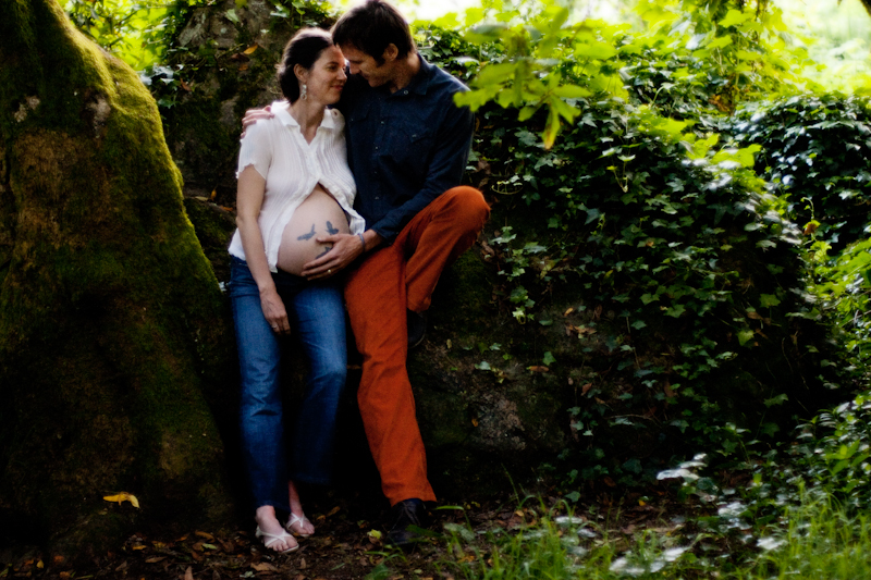 Maternity Photography_ bay area woodsy - 3