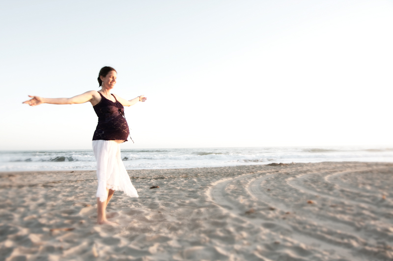 Maternity Photography_ bay area beach - 5