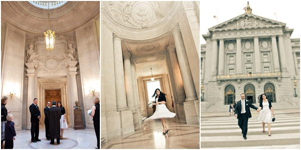 San Francisco City Hall wedding 4