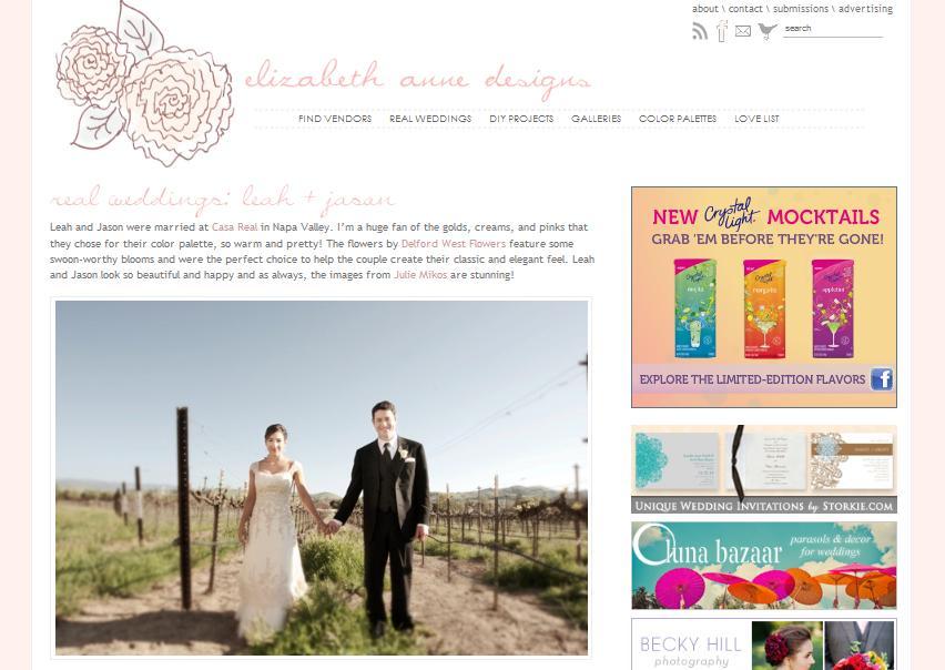 Featured on Elizabeth Anne Designs