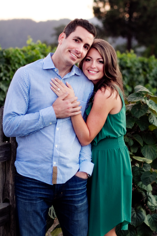 Yountville wine country engagement session 3