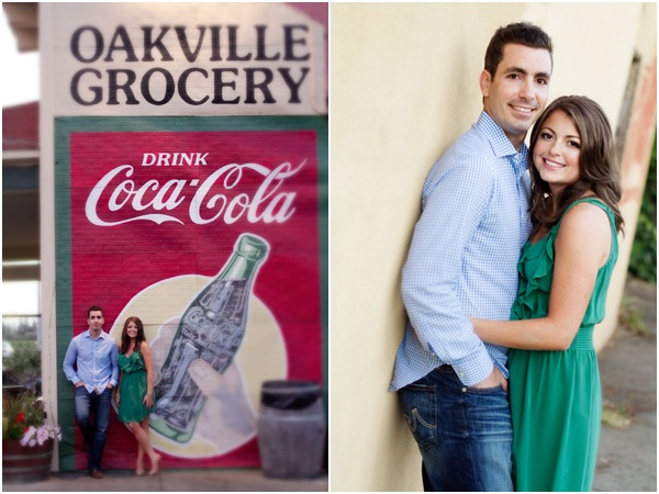 Yountville wine country engagement session 5