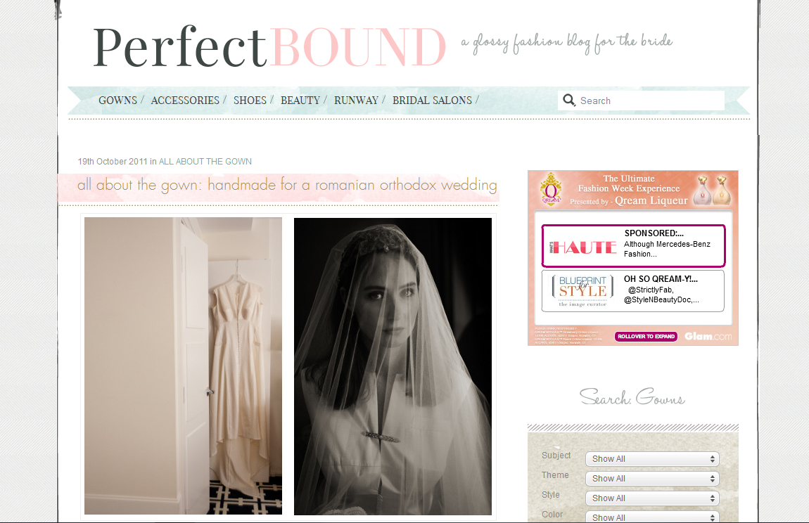 Featured on Perfect Bound