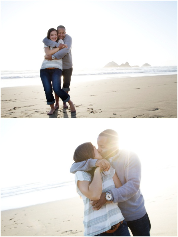 Ocean Beach engagement session 3