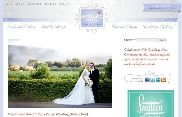 Featured - Wedding Row California