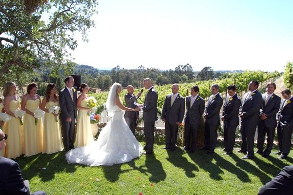 Sunflower summer wedding Julie Mikos 10