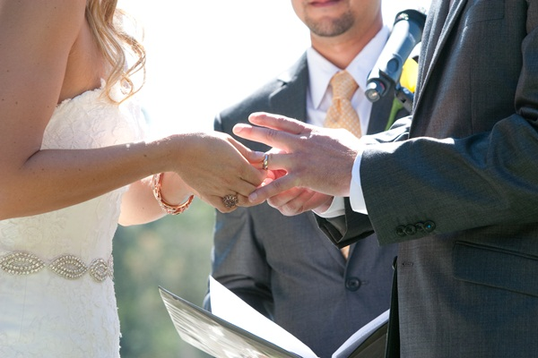 Sunflower summer wedding Julie Mikos 11