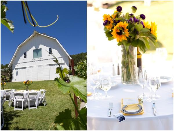 Sunflower summer wedding Julie Mikos 19