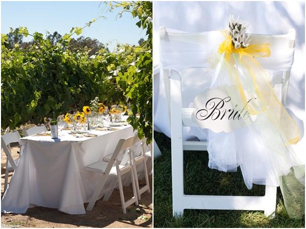 Sunflower summer wedding Julie Mikos 25