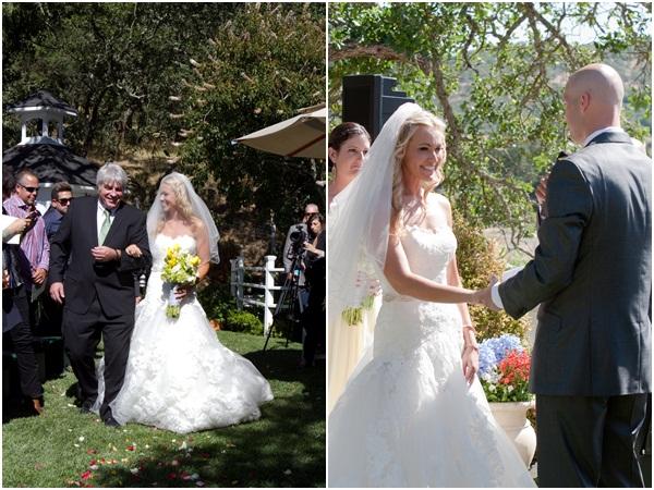 Sunflower summer wedding Julie Mikos 9