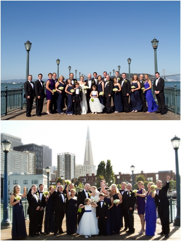 Fairmont Hotel San Francisco Wedding 10