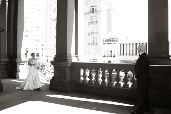 Fairmont Hotel San Francisco Wedding 3