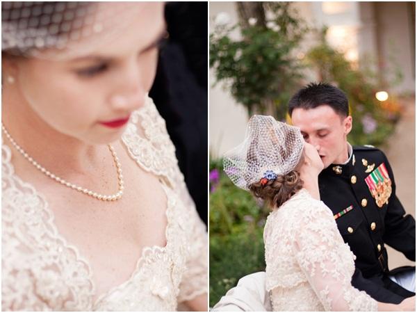 Vintage Military Wedding Julie Mikos Photographer 30