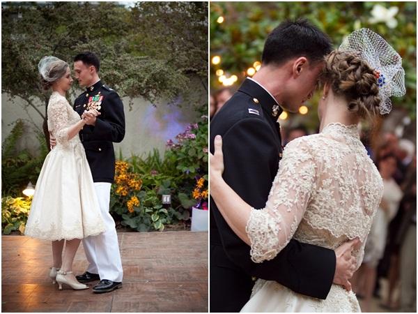 Vintage Military Wedding Julie Mikos Photographer 35