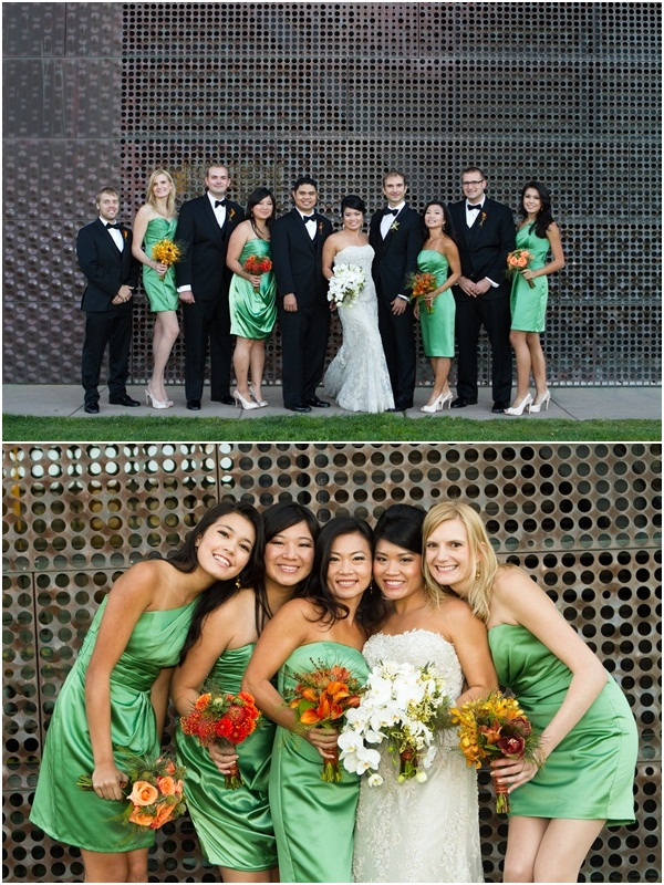 San Francisco de Young museum wedding 9