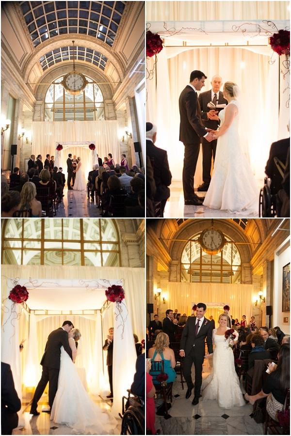 Merhcant's Exchange Building wedding 10