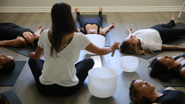 Sound Bath Healing at Saffron & Sage