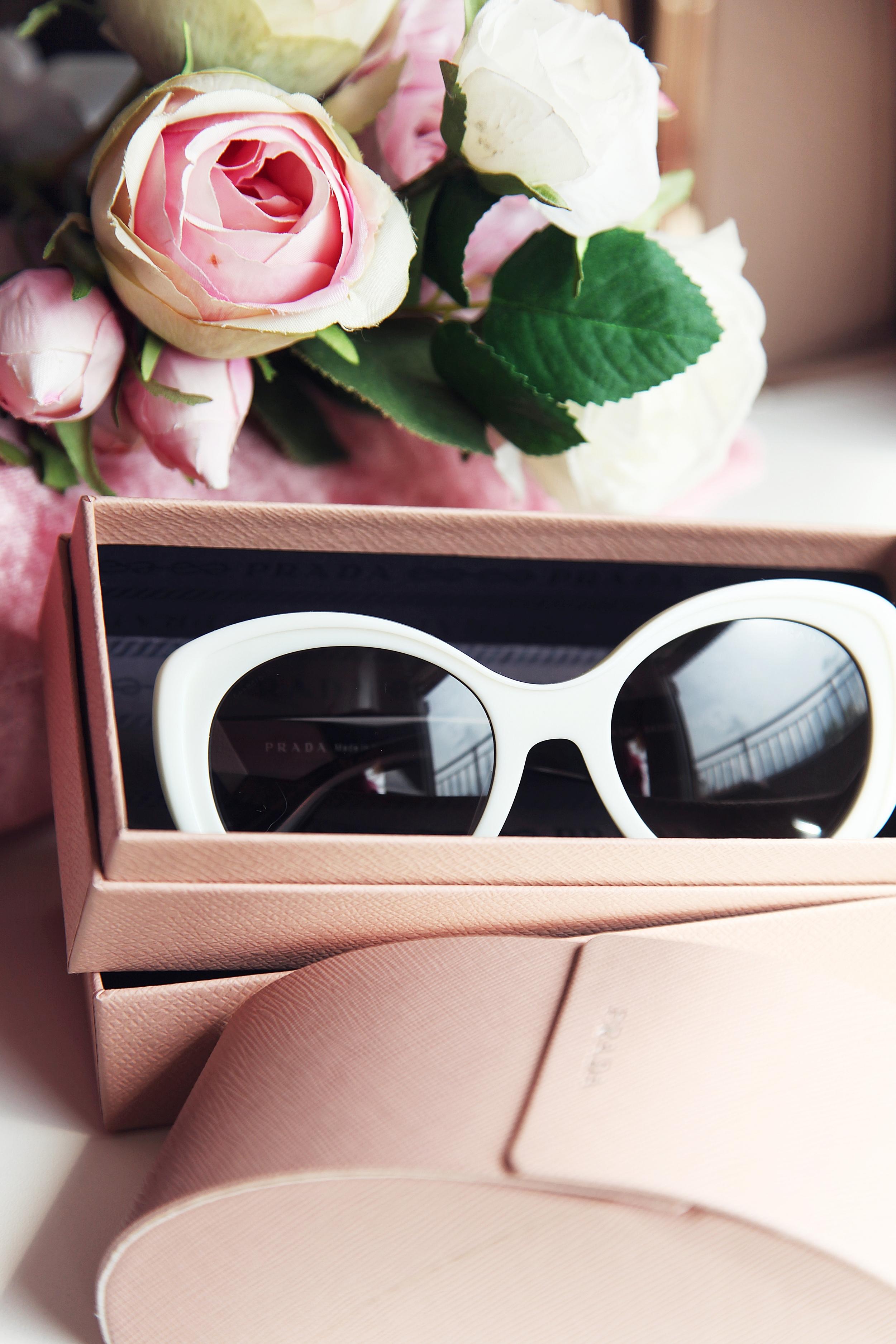 White Prada Sunglasses - Dyrogue