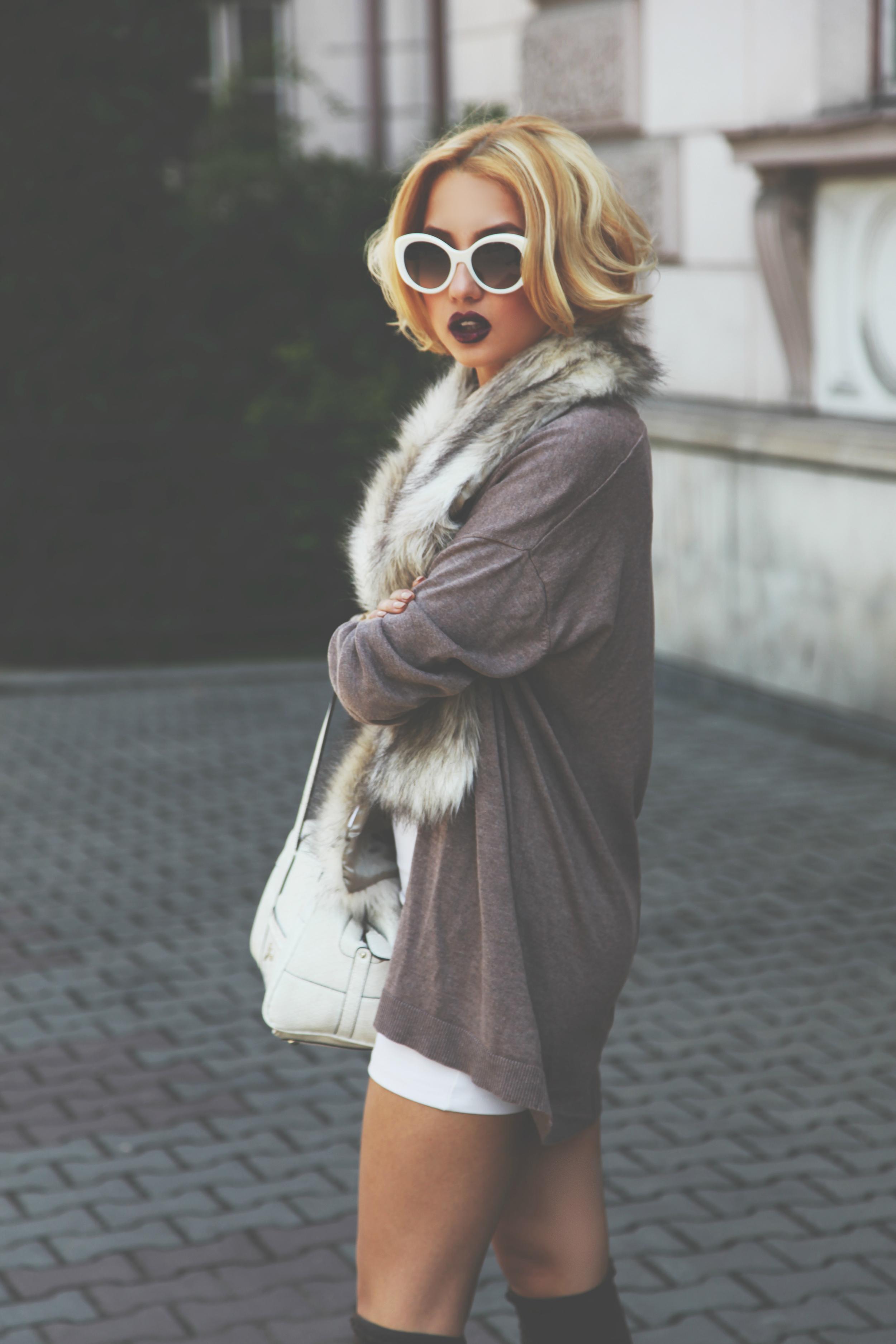 Diana Rogo classy casual look