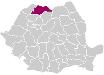 Romania Map Maramures