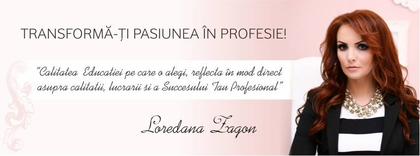 Loredana Zagon -   Formator in nail art, trainer OPI, director general Nail Art Studio