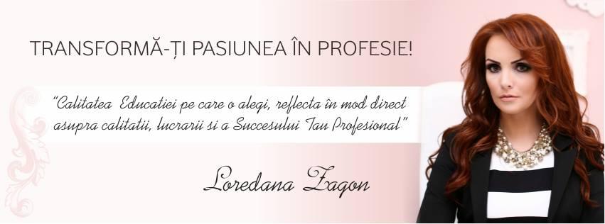 Loredana Zagon -   Formator in nail art, trainer OPI, director general Nail Art Studio