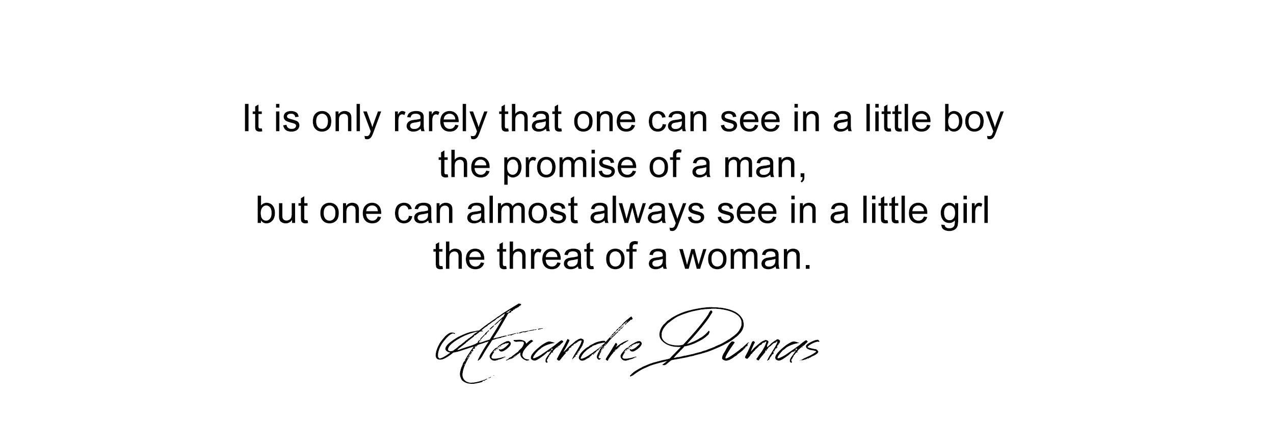 Woman Quote on DYROGUE