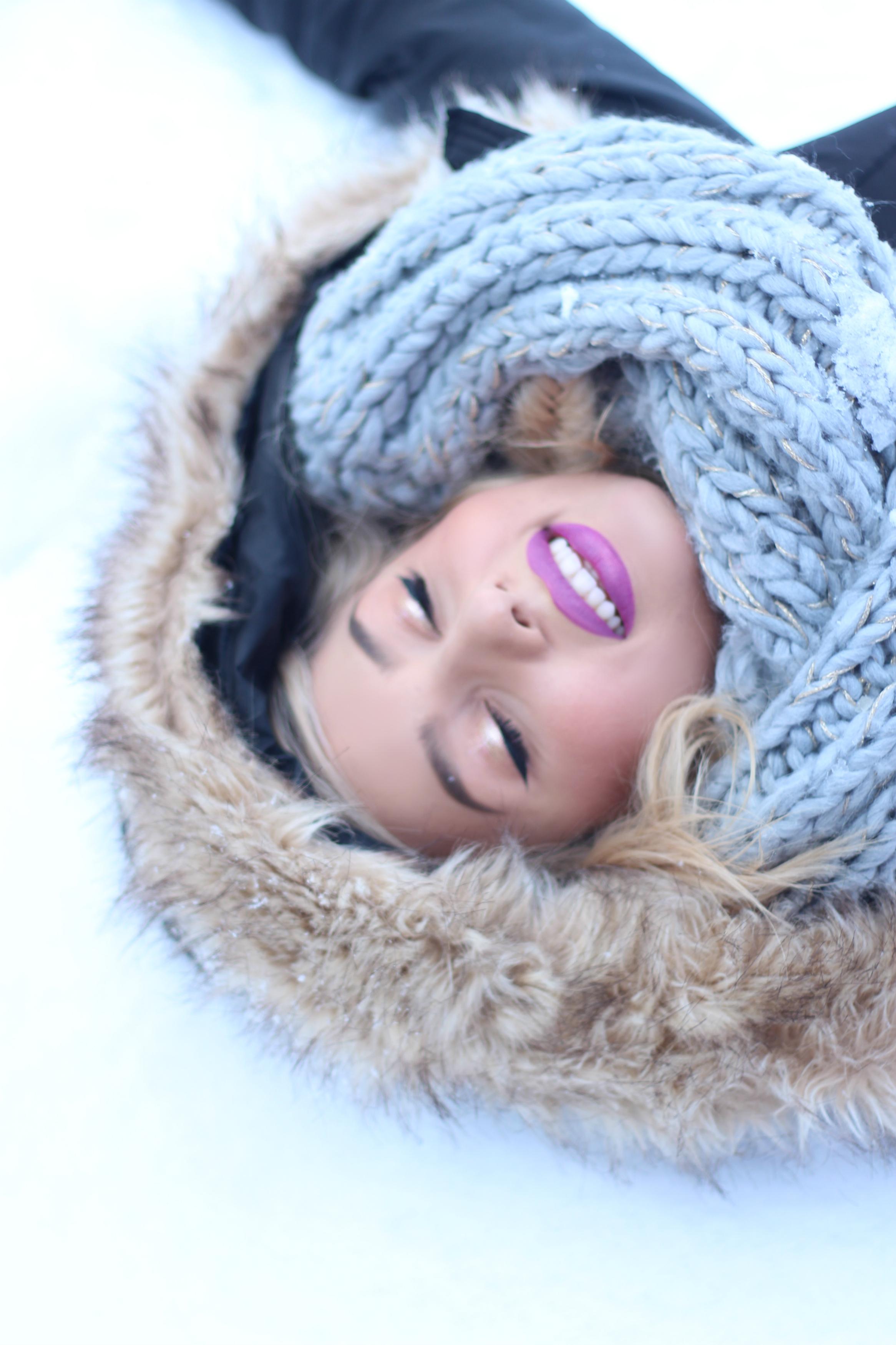 Diana Rogo in Snow