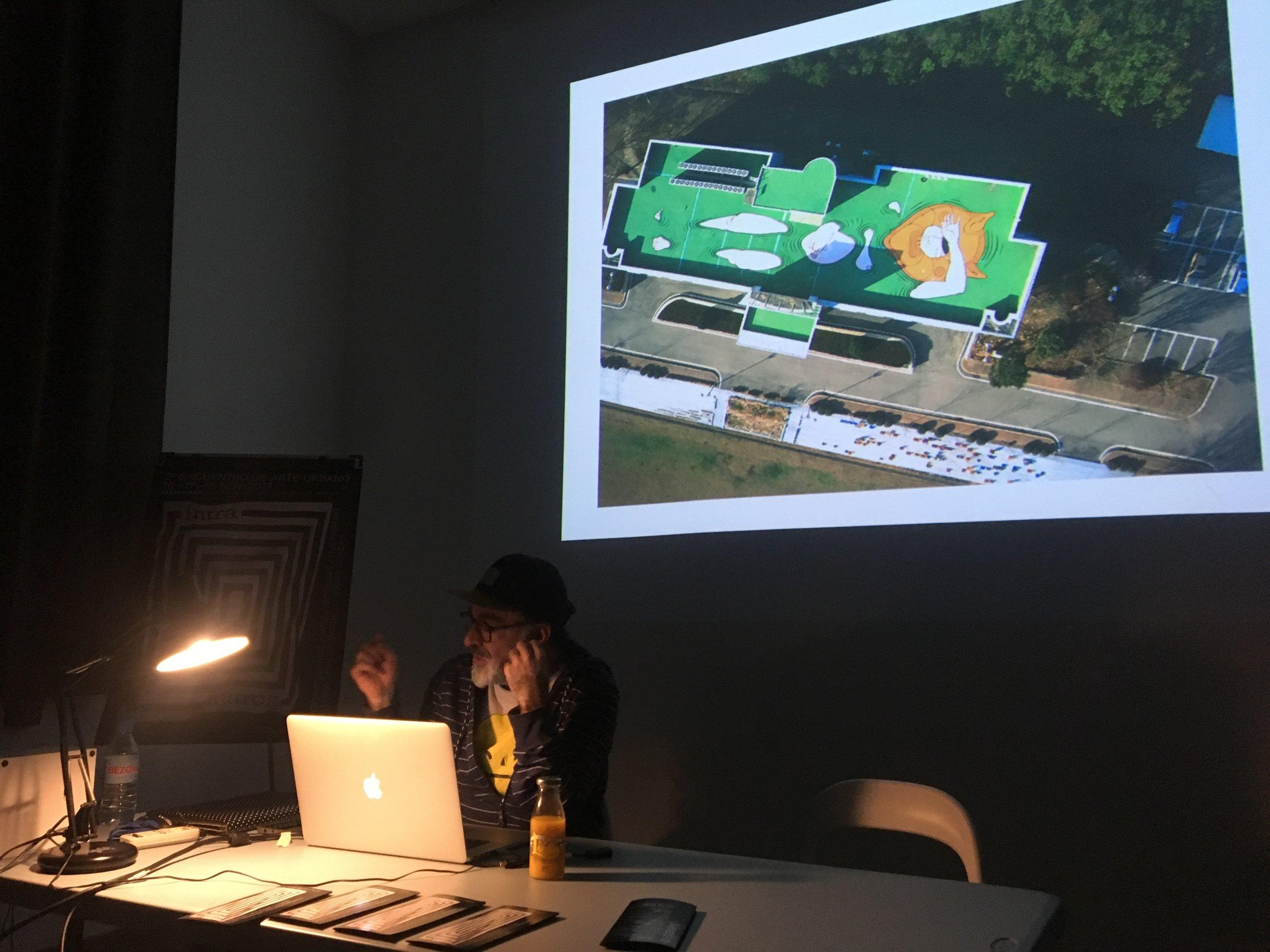 Hackear el paisaje:el mundo como muro cartográfico | Santiago Morilla