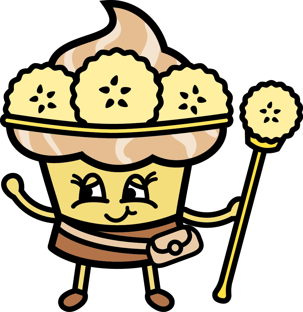 Nutty Nana - Helps Papa Peanut Butter look after the village.