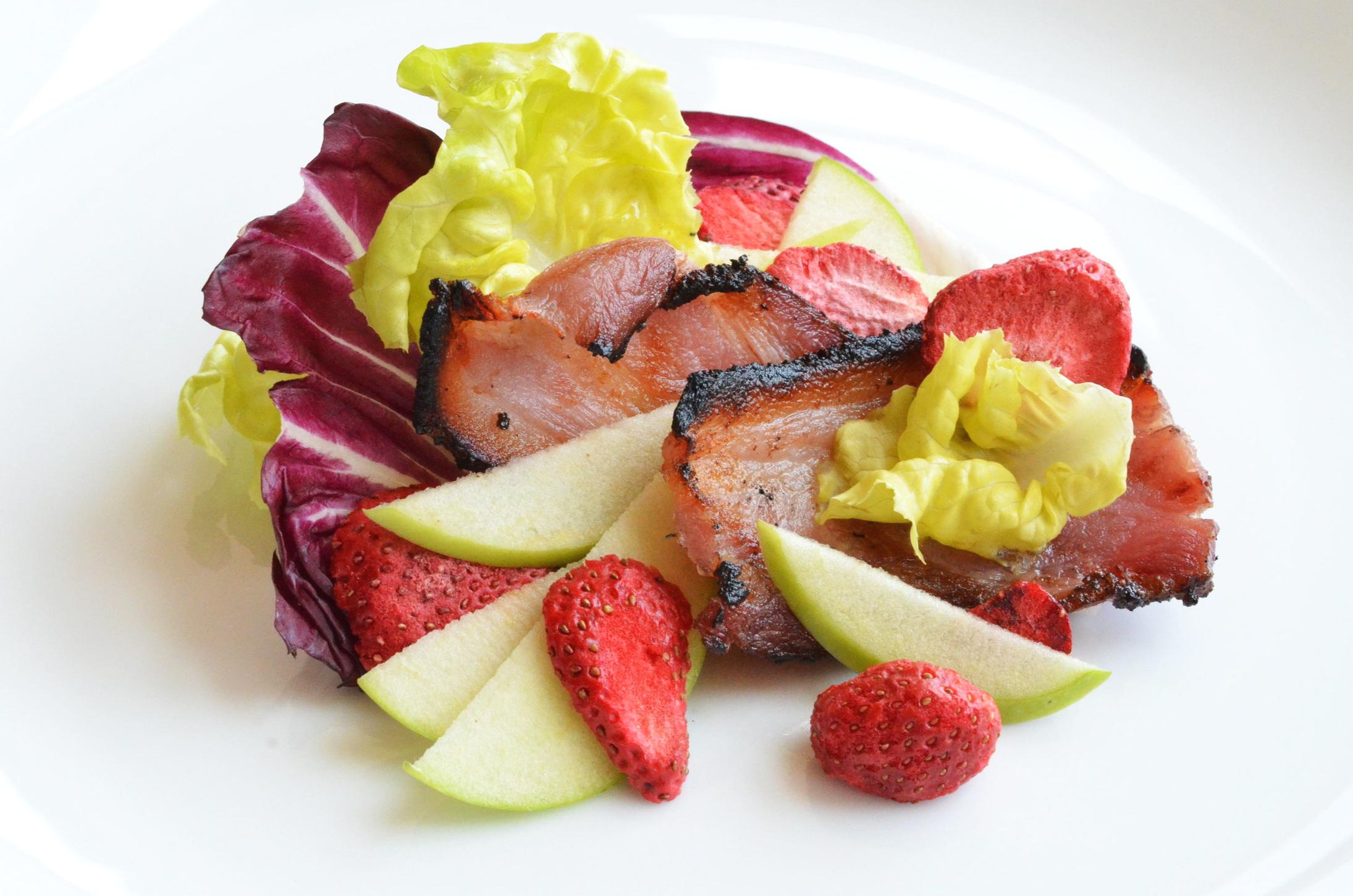 FRZ-DRY Strawberry Bacon Salad