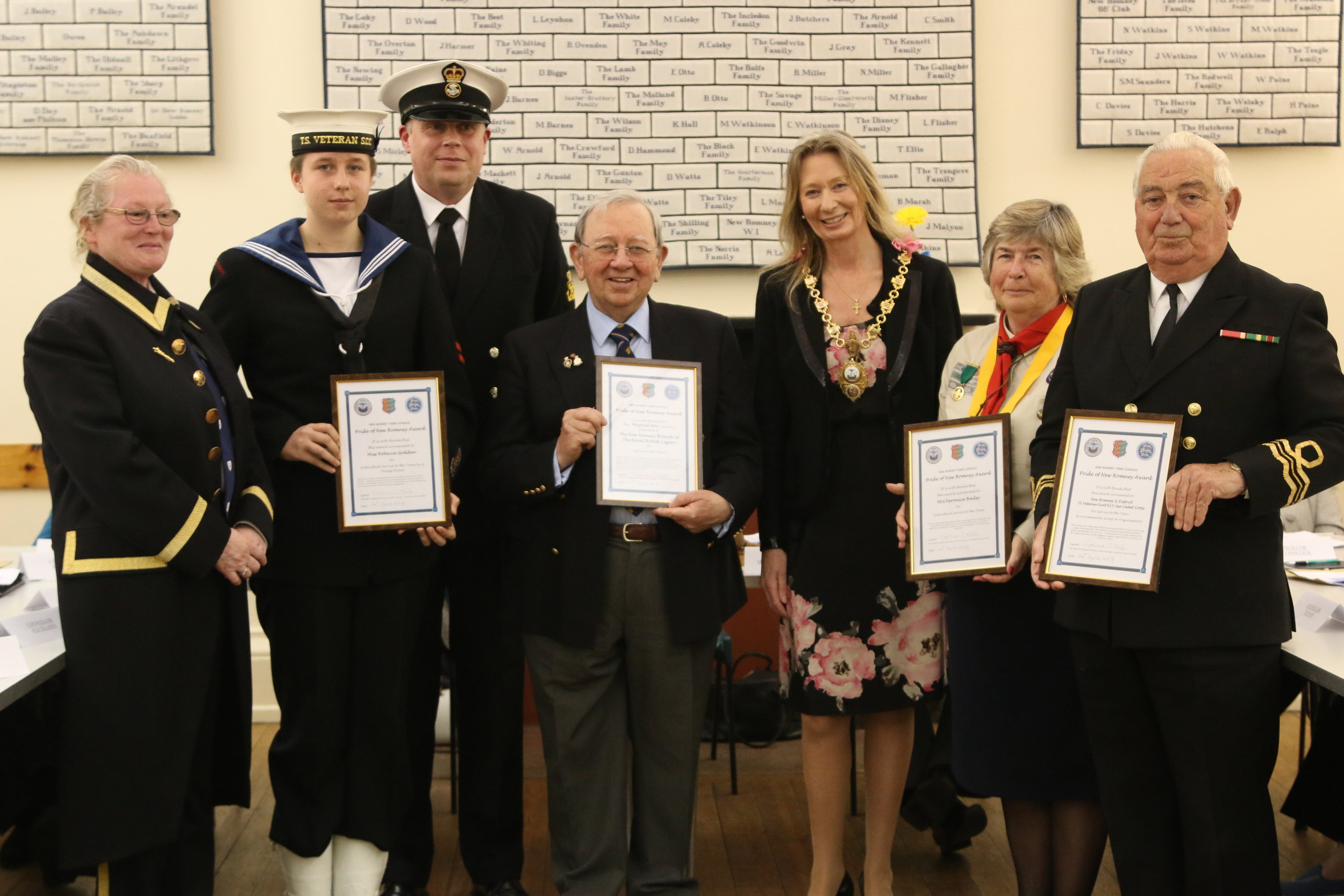 new romney annual meeting and pride of new romney awards 2017