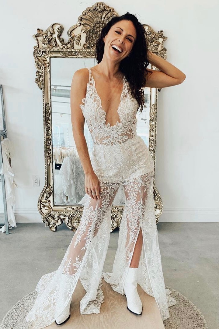 """JOSLYN DAVIS - """" I LOVED this experience thanks to the lovely people at Kinsley James Boutique."""""""