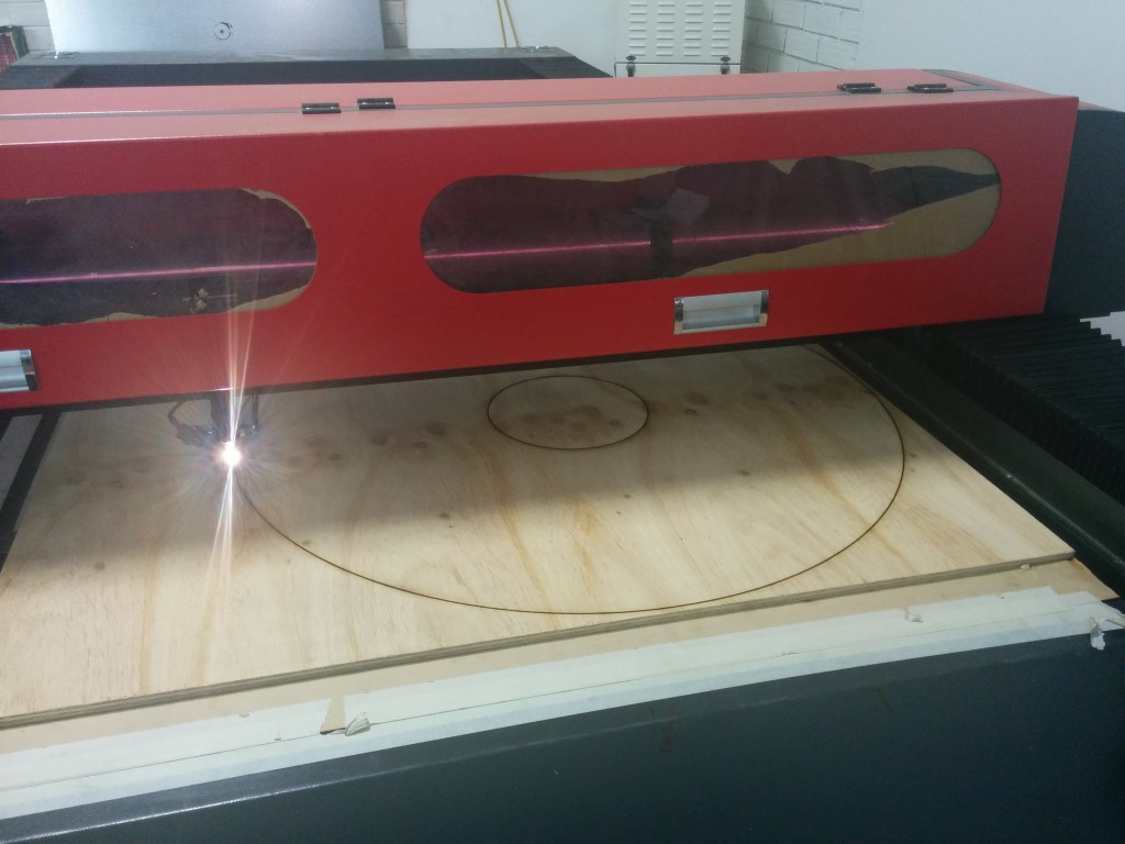 Laser cutting the Black Hole