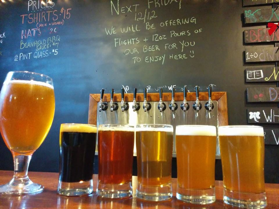 Rushing Duck will start selling flights and 12oz      pours starting Friday 12/12/14!