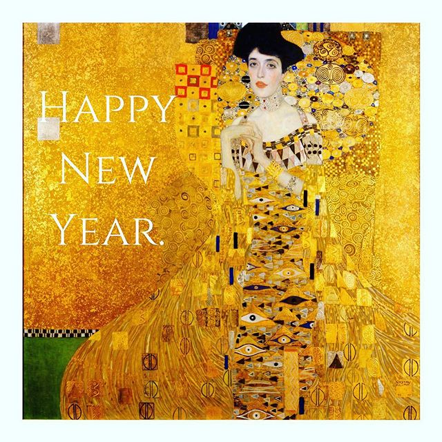 Welcome in the New Year with a Kiss from Klimt. (Gustav Klimt - The Kiss - 1908) #kiss #gustavklimt #klimt  #art #painting #framing #classic #gold #ornate #luxury #framing #master #picture #instagood #instagram #instart #lady #beautiful