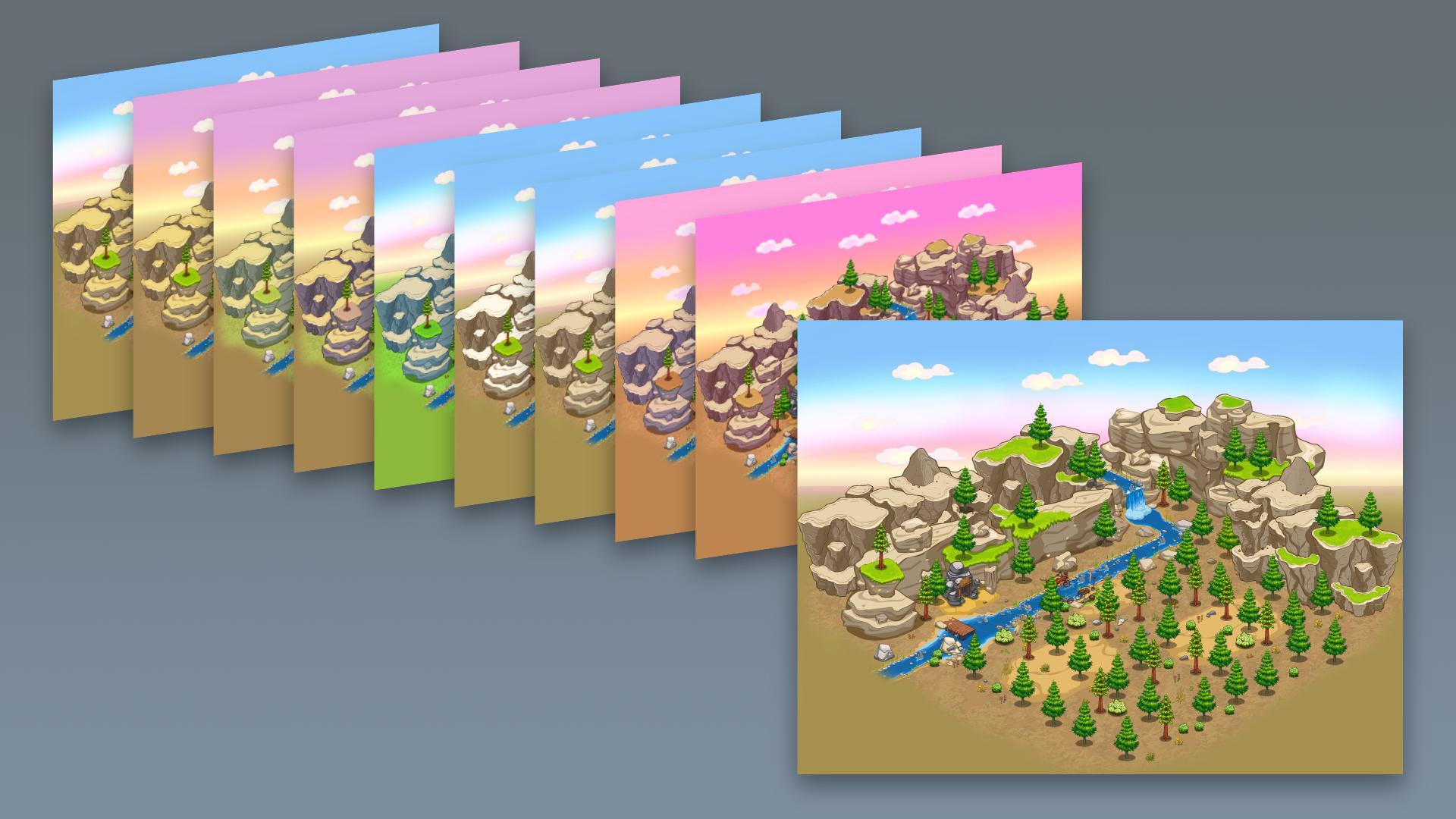 Environment color concepts