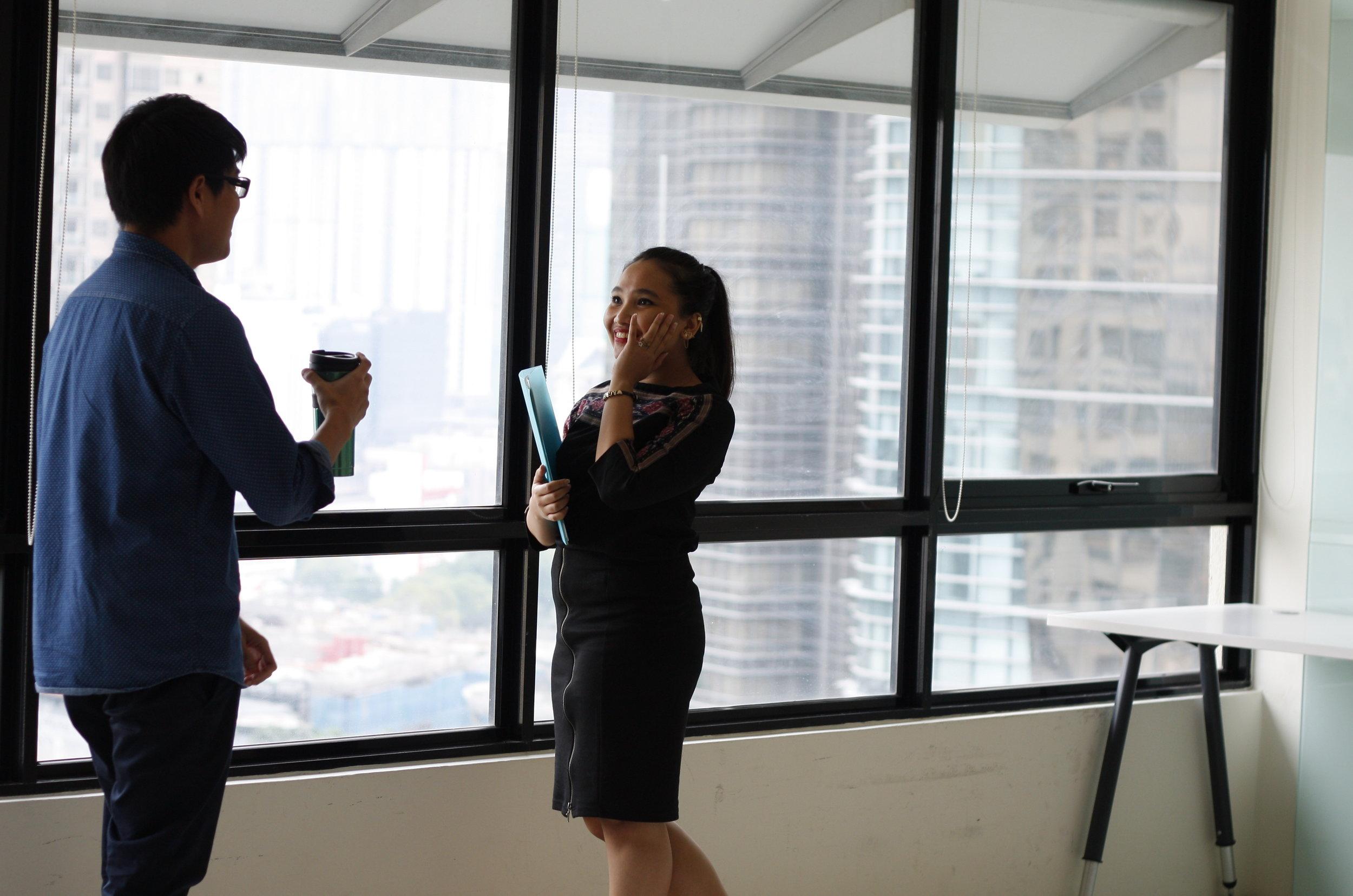 https://www.pexels.com | Man and woman at work